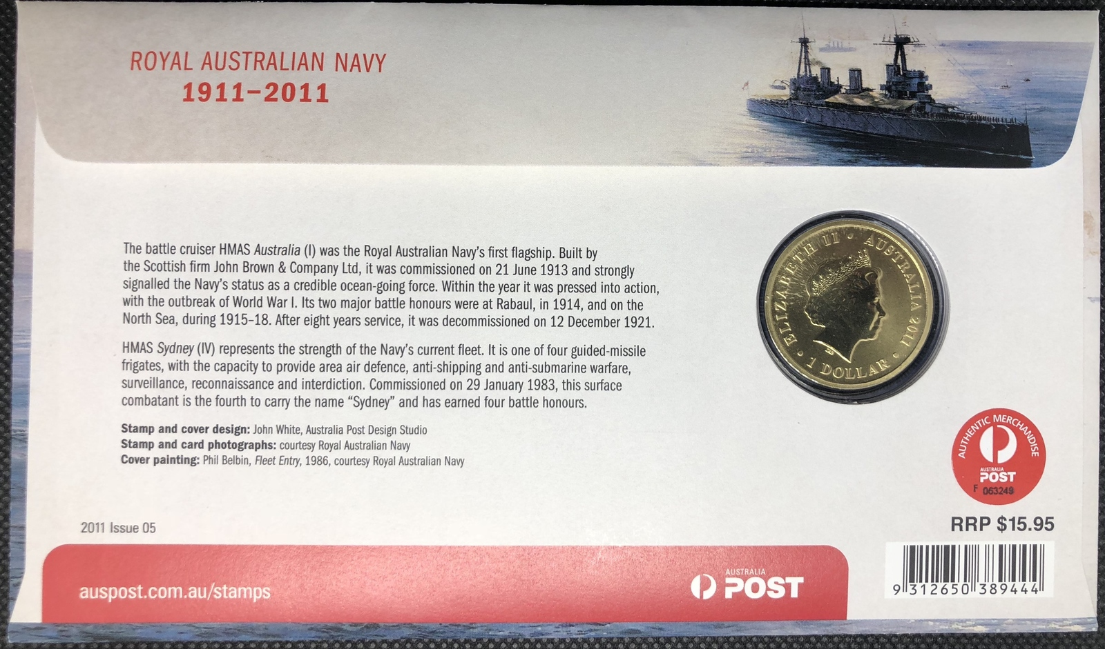 2011 PNC Royal Australian Navy