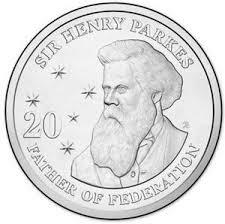 2015 Sir Henry Parks Twenty Cents
