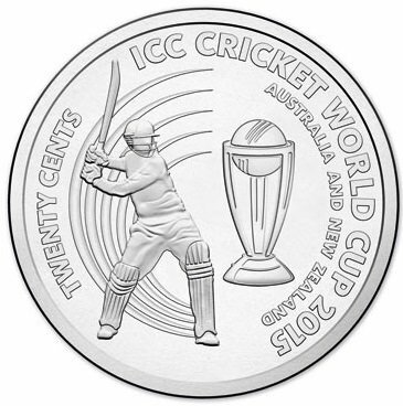 2015 - ICC Cricket World Cup Twenty Cents