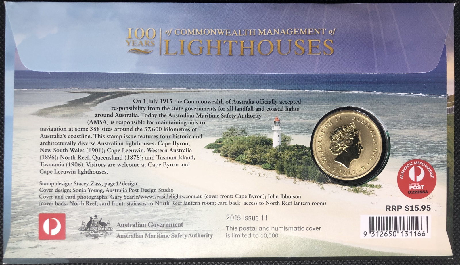 2015 PNC 100th Anniversary of Lighthouse Service PM