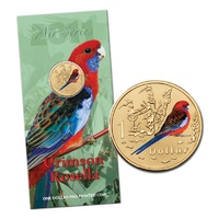 2011 $1 Air Series - Crimson Rosella