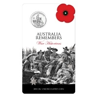 2011 - Australia Remembers War Historians Twenty Cents