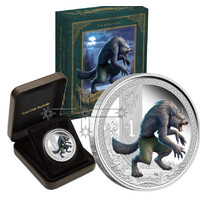 2013 Werewolf 1oz Silver Proof Coin