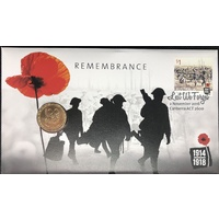 2016 PNC Remembrance 100 years of ANZAC dollar
