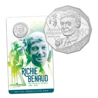 2017 - Richie Benaud Fifty Cents