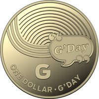 "2019 $1 ""G"" Great Australian Coin Hunt"