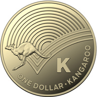"2019 $1 ""K"" Great Australian Coin Hunt"