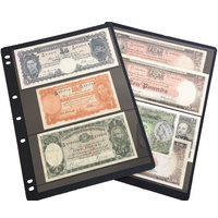 3 Pocket Banknote Album Sleeve