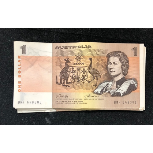 1974 - $1 Phillips/Wheeler Banknote