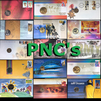 PNCS - Philatelic Numismatic Covers